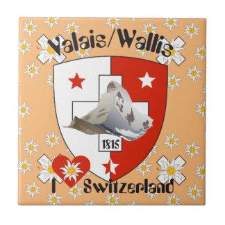 Valais, Wallis Suiza baldosa/