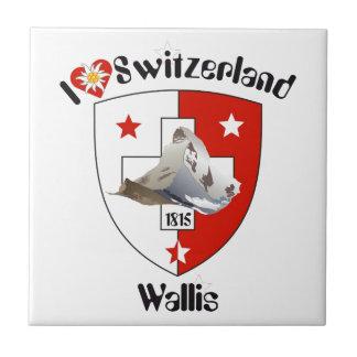 Valais, Wallis Suiza baldosa/ Azulejos Ceramicos