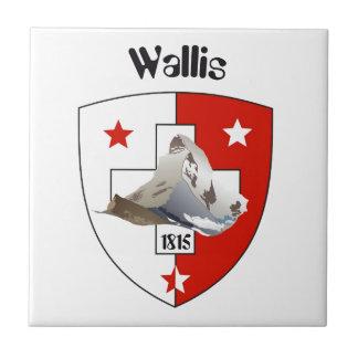 Valais, Wallis Suiza baldosa/ Azulejo Cerámica