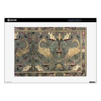 "Valance of Renaissance design, 17th century (silk) 15"" Laptop Skins"