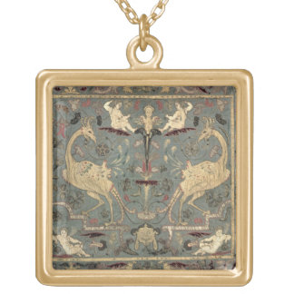 Valance of Renaissance design, 17th century (silk) Custom Jewelry