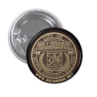 Valbrook City Seal Button