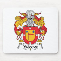Valderas Family Crest Mousepad