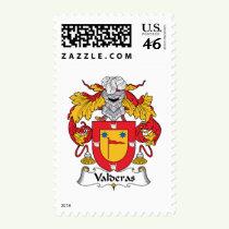 Valderas Family Crest Stamps