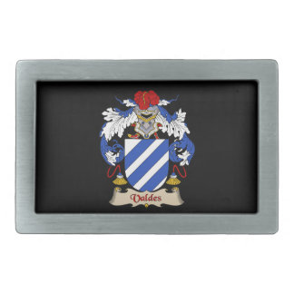 Valdes Family Coat of Arms Belt Buckle