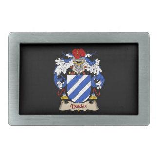 Valdes Family Coat of Arms Belt Buckle