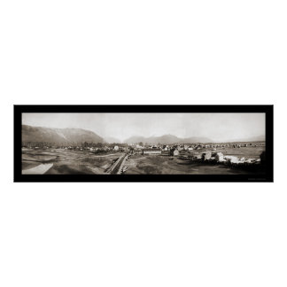 Valdez AK Panorama Photo 1902 Poster