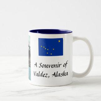 Valdez Alaska taza del recuerdo