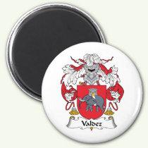 Valdez Family Crest Magnet