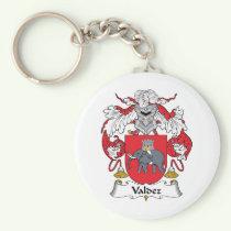 Valdez Family Crest Keychain