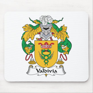 Valdivia Family Crest Mouse Pad