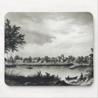 Valdivia, from 'The History of Chile'engraved Mouse Pad