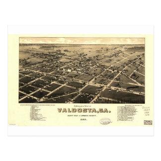 Valdosta Georgia in 1885 Postcards