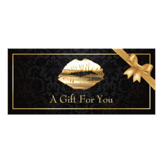 vale floral del artista de maquillaje de los diseño de tarjeta publicitaria