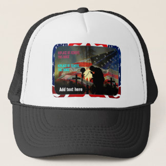 Vale of Tears Remembrance Trucker Hat