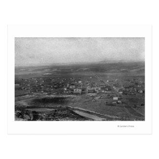 Vale, Oregon Birds Eye View of Town Photograph Postcard