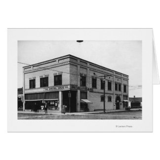 Vale, Oregon Town View of Nelson Block Photograp Card