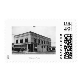 Vale, Oregon Town View of Nelson Block Photograp Postage