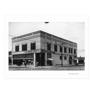 Vale, Oregon Town View of Nelson Block Photograp Postcard