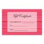 vale rayado rosado rojo flyer personalizado