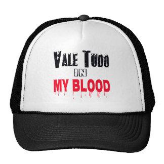 Vale Tudo In My Blood Trucker Hats