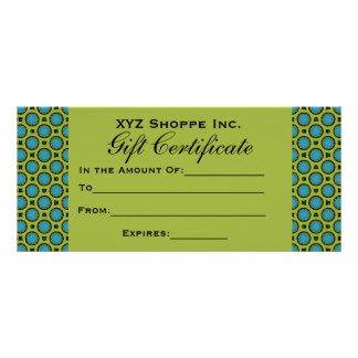 Vale verde de la turquesa tarjetas publicitarias