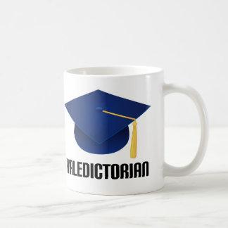 Valedictorian Blue Grad Hat Coffee Mug