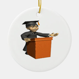 Valedictorian Ceramic Ornament