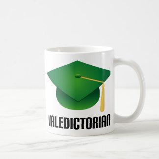 Valedictorian Green Grad Hat Coffee Mugs