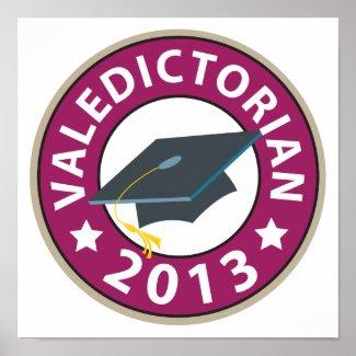 Valedictorian Poster
