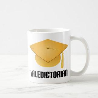 Valedictorian Yellow Grad Hat Mug