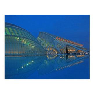 Valencia - Ciudad de las Artes y las Ciencias Tarjetas Postales