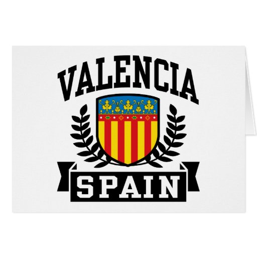 Valencia España Felicitaciones