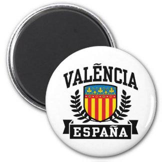 Valencia Espana Imán Redondo 5 Cm