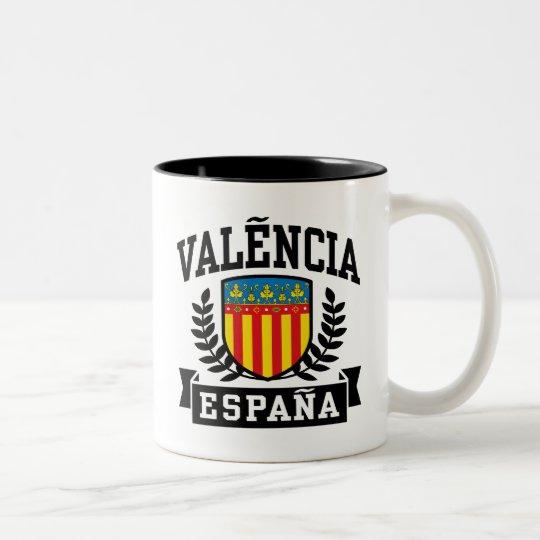 Valencia Espana Two-Tone Coffee Mug