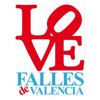 VALENCIA FAULTS SOUVENIR POSTCARD