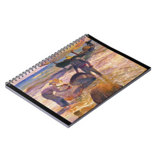 Valencia Fishermen 1895 Notebook