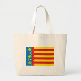 Valencia flag canvas bags