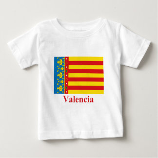 Valencia flag with name tees