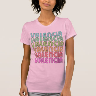 Valencia rosada Valencia Camiseta