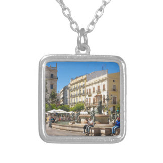 Valencia Silver Plated Necklace