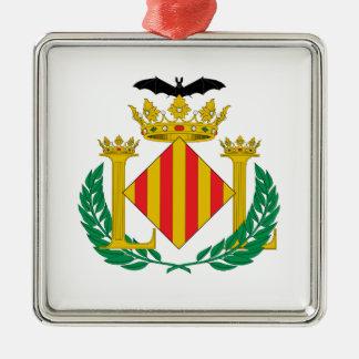 Valencia (Spain) Coat of Arms Metal Ornament