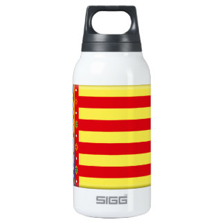 Valencia (Spain) Flag 10 Oz Insulated SIGG Thermos Water Bottle