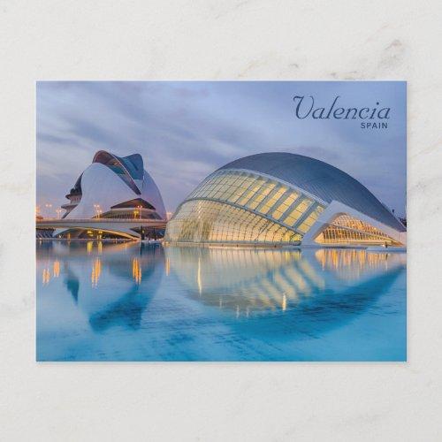 Valencia Spain Modern Architecture Postcard