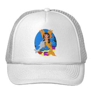 Valencia the Orange Merfaery and Dolphin Hat