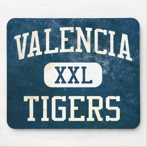 Valencia Tigers Athletics Mouse Pads
