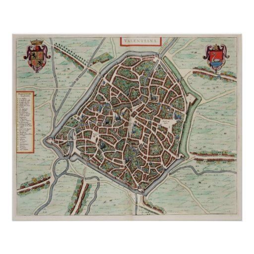 Valenciennes Print