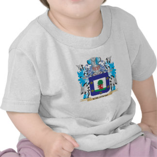 Valente Coat of Arms - Family Crest Tshirts