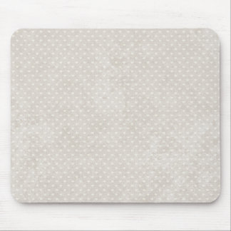Valentie Heart Pattern White Hearts Mouse Pad