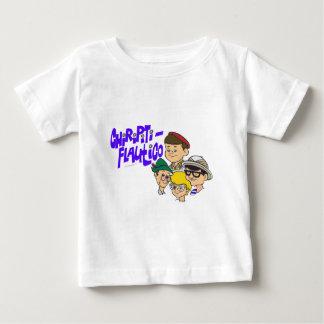 Valentina, Locomotoro, tío Aquiles del moreno y Camisetas